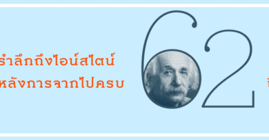 รำลึกถึงไอน์สไตน์ หลังการจากไปครบ 62 ปี