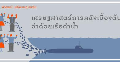 เศรษฐศาสตร์การคลังเบื้องต้นว่าด้วยเรือดำน้ำ