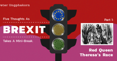 Five thoughts as Brexit takes a mini-break. Part 1: Red Queen Theresa's Race